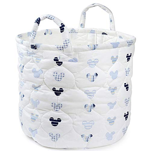 Blancho Bedding Foldable Mickey Mouse Storage Bin Closet Toy Box Container Organizer Fabric Basket from Blancho Bedding