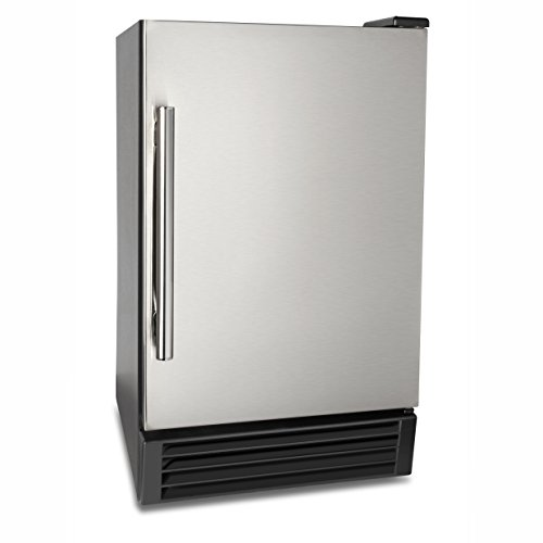 "Maxx Ice 14.6"" 22lb Compact Crescent Ice Maker - Built-In, Countertop MIM25 by Maxx Ice"