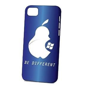 Case Fun Apple iPhone 5C Case - Vogue Version - 3D Full Wrap - Dark Blue Be Different