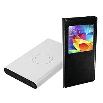 Cargador inalámbrico con 7000 mAh batería externa, USB ...