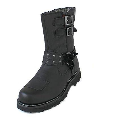 Harley Davidson Womens Marmora Leather Boots 1
