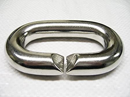 Marine Chain Link 5MM Stainless Steel C Ring