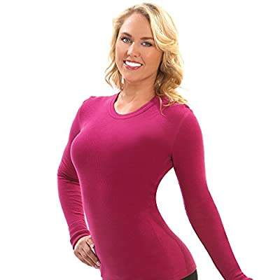 Otomix Women's Solid Color Soft Thermal Long Sleeve Tee