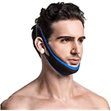 Anti Snoring Chin Strap - Most Effective Snoring Solution and Anti Snoring Devices - Snoring Chin Strap - Stop Snoring Sleep Aid For Men and Women [UPGRADED VERSION](Pink)