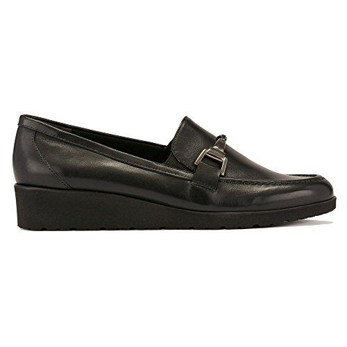 Walking Cradles Womens Flounce Boat Shoe Black Cashmere