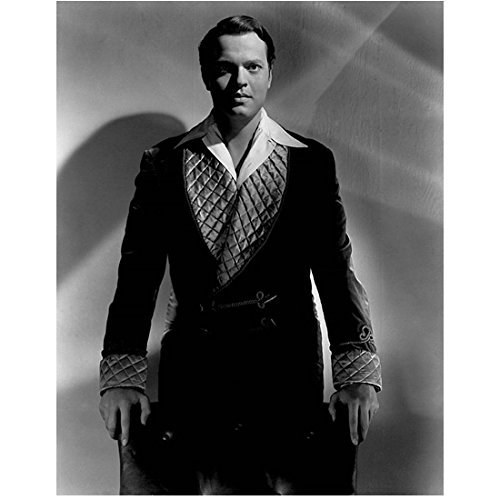 Orson Welles Citizen Kane Touch of Evil F for Fake 8 Inch x 10 Inch Photograph Standing in Smoking Jacket kn