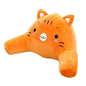 Amazon.com: Animal Tiger Bedrest Reading Posture Arm Pillow Soft Back Support Kids Bed Rest ...