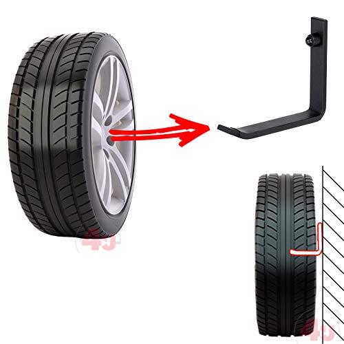 Reifenhalter Wandhalterung Felgenhalter Wandhalter Reifenst/änder Felgenregal Reifenhalterung Reifenwandhalter 4U/® 16 x Wand-Reifenhalter 25kg 5x20mm