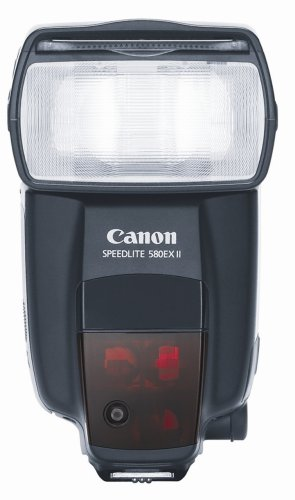(Canon Speedlite 580EX II Flash for Canon EOS Digital SLR Cameras)