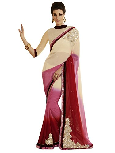 Saree Bahubali Jay Style Bollywood Sarees Party Wear WBSqwT1Y