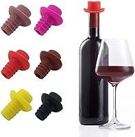 Tapas de Silicona para Botellas de Vino