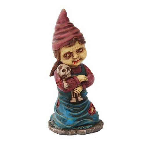 Undead Zombie Little Girl Voodoo Gnome Sculpture