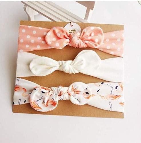 Trendy Bow Headband Girls Hair Band Bowknot Rabbit Bunny Ears Supply C