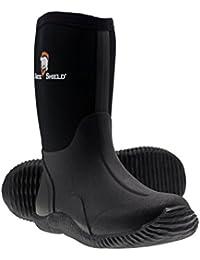 Kids Waterproof Durable Rubber Neoprene Outdoor Boots