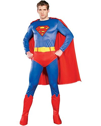 Superman Costumes Variations (Superman Adult Costume - Large)