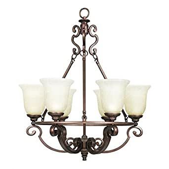 amazon home decorators collection home decorators collection fairview 6 light heritage 10343