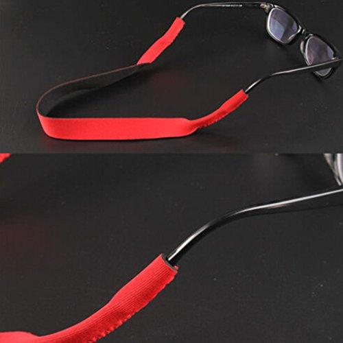 GOTTING Gafas de sol Gafas Sports Band Head Band Cable titular rojo uaxMk2n6