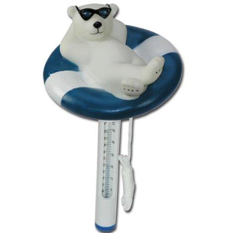 Eisbär Pool Schwimmbad Teich Thermometer Zubehör Modell ELECSA 3080