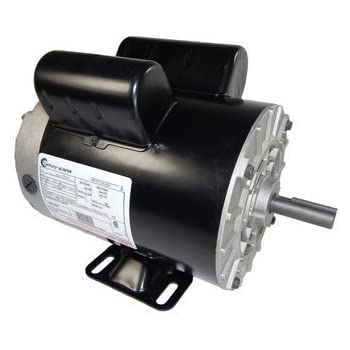 5 hp spl 3450rpm p56 frame 230 volts replacement air compressor motor -  century motor #