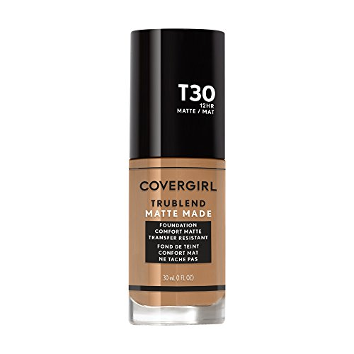Covergirl Trublend Matte Made Liquid Foundation, Warm Honey, 1.014 Ounce