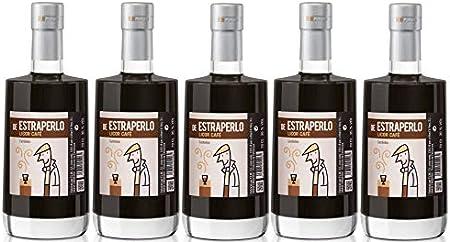 Caja variada nº 12-5 Botellas de Licor de Café. 5 X 70 cl