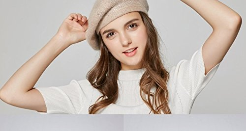 NEWC Female Winter Sweet Leisure Fashion All-Match Beret
