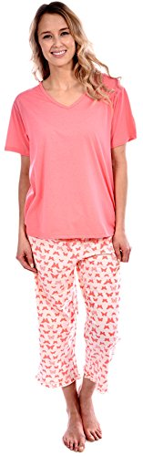 Pink 2 Piece Pajamas - 8