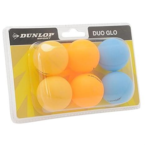 Dunlop Nitro Tischtennisbälle, 6 Stück 6 Stück