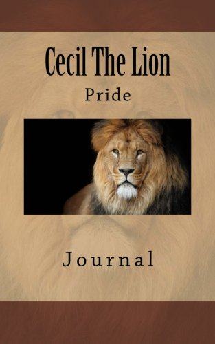Cecil The Lion Notebook