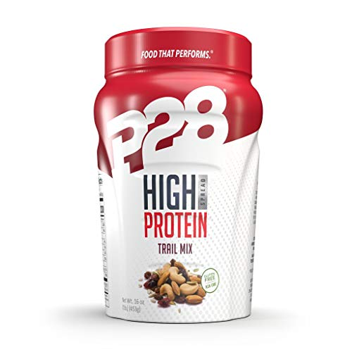 P28 Foods Formulated High Protein Spread, Trail Mix, 16 Ounce ...