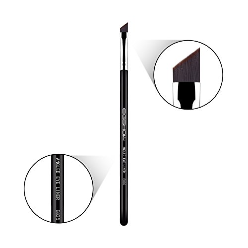 Eyeliner Makeup Brush Makeup Angle Eyebrow Kabuki Brush Eigshow Portable Eye Powder Foundation Brush, Beauty Cosmetic Tool (E835)
