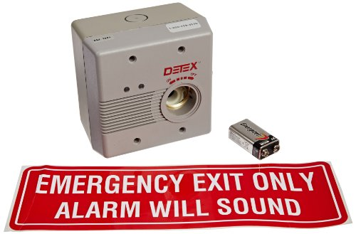 Detex Surface Mounted AC/DC Powered Door Alarm by Detex