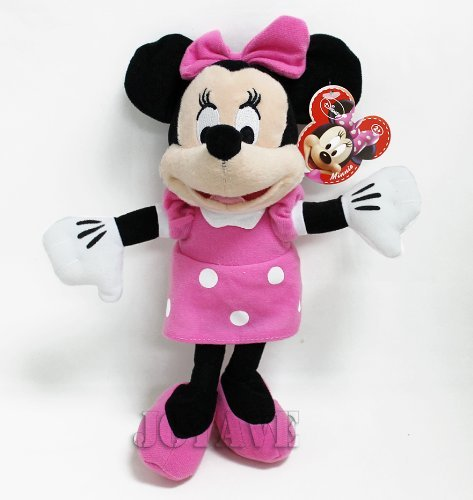 """Disney Mickey Mouse Clubhouse - Minnie Mouse 10"""" Plush Doll"""
