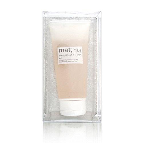 Mat Male by Masaki Matsushima for Men 6.66 oz Perfumed Bath and Shower Gel by Masaki Matsushima