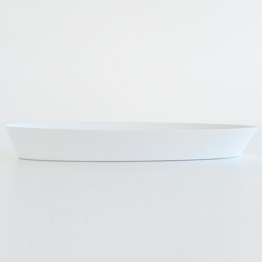 Alessi''Pinpin'' Bread Basket in Steel Colored with Epoxy Resin, White by Alessi (Image #3)