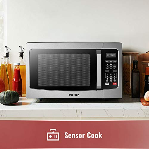 Microwave Oven With Convection Function: Toshiba EC042A5C-SS Countertop Microwave Oven With