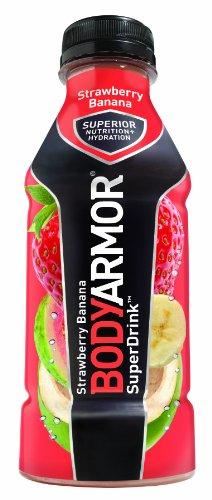 BodyArmor SuperDrink Strawberry 16 Ounce Bottles product image