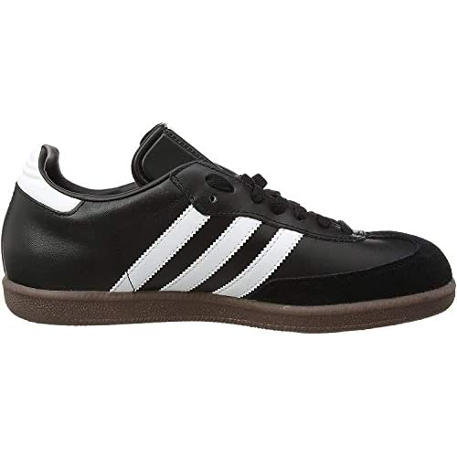 chollos oferta descuentos barato adidas Originals Samba Leather Zapatillas de Fútbol para Hombre Negro Black White Gum 38 EU