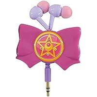 Bandai Sailor Moon ribbon reel stereo earphone Crystal Star brooch SLM-34A