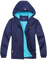 Jingle Bongala Boys Girls Light Waterproof Jackets Hooded Windbreaker