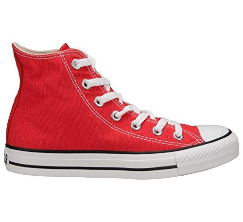 Converse Unisex Chuck Taylor All Star High Top (5.5 Men 7.5 Women, Red) (Converse Chucks Red)