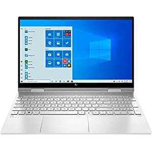 HP Envy x360 2-in-1 Touch-Screen 15.6″ Laptop – Intel Core i7 – 12GB Memory – 512GB SSD + 32GB Optane – Natural Silver