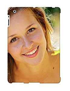 High Quality Tpu Case/ Smiling Girl RmvdgIk3219FyXMM Case Cover For Ipad 2/3/4 For New Year's Day's Gift