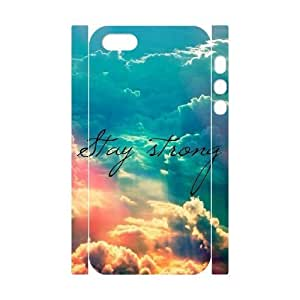 MEIMEIStay Strong DIY 3D Cover Case for Iphone 5,5S,personalized phone case ygtg609248MEIMEI