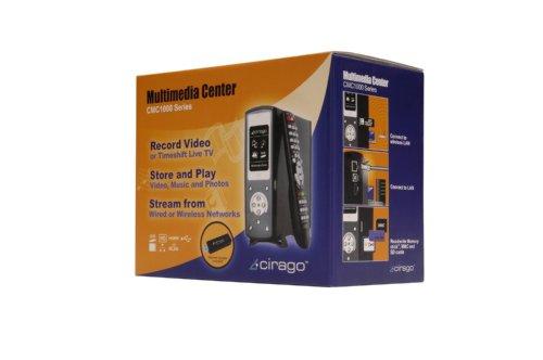 Cirago 500 GB Multimedia Center 1000 Series (Black)
