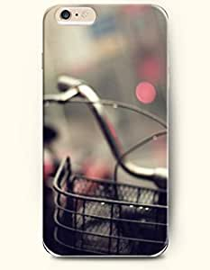 OFFIT iPhone 6 Plus Case 5.5 Inches a Basket of Bike by icecream design