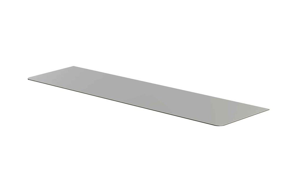 シロクマ ステンレス棚板B形 600㎜ HL/VIB TG-110 B009VD0BDI 600㎜  600㎜