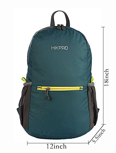 Hikpro 20L - The Most Durable Lightweight Packable Backpack, Water Resistant Travel Hiking Daypack For Men & Women by HIKPRO (Image #6)