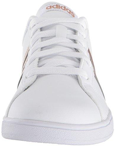 the latest c2061 cbc9e adidas Originals Unisex-Kids Baseline Sneaker, White Copper Metallic Black,  1 M US Little Kid  Amazon.co.uk  Shoes   Bags