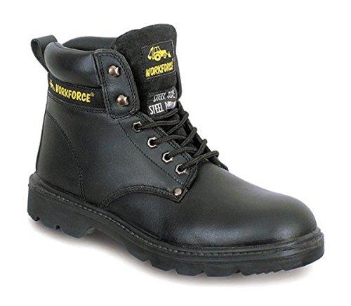 Seguridad Zapatos 300p Hombres S3 Laboral RZRzAwqFx